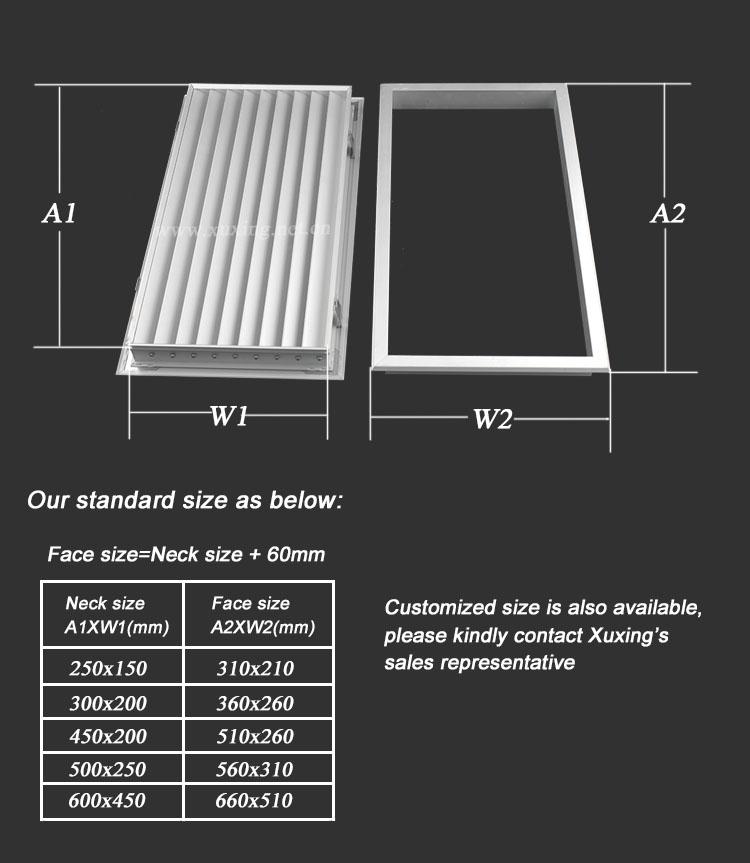 Quality Products Hvac Aluminium Door Vents For Interior Doors Buy