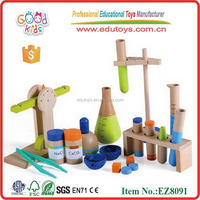 Good Kid's Wooden Laboratory Science Kit Preschool Toys