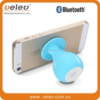 Bluetooth mini speaker Mushroom Silicone Sucker Hands Free Mini Wireless Speaker Bluetooth Waterproof Speaker For Phone