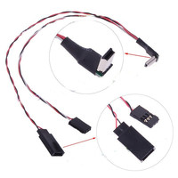 F07531 Real Time FPV AV Transmitter Connecting Mini Cable USB to AV Mini Cable For HD 3 Camera