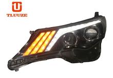 TLZ 2013-2015 TOYOTA RAV4 (with daytime running) Q5 double optical lens xenon LED headlight assembly