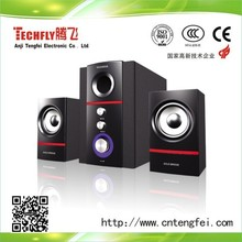 the speaker manufacture factory with hifi good quality amplifier 2.1 multimedia speaker