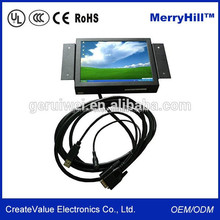 Industrial 16:9 Screen 10 Inch Open Frame LCD monitor with AV,VGA ,HD Input