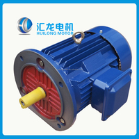 Flange type rotor and stator wounded fan cooling electric motor 50HZ 400v IP55