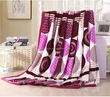 100% polyester hot sale super soft flannel fleece blanket