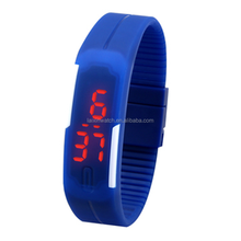 Fashion new products for 2015 sport digital touch led wristband watch