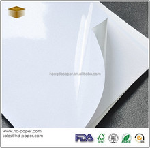 Self Adhesive Cast Coated Glossy Photo Paper