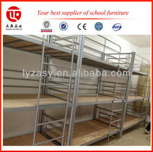 military triple bed steel bunk bed frame