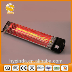 ruby lamp infrared quartz heater shop & offcie use approved CB,CE