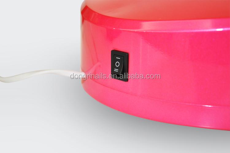 3 W LED en forme de coeur Nail durcissement lampe avec minuterie