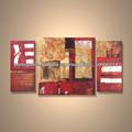 popular moderna tela pintada à mão resumo artística da pintura a óleo