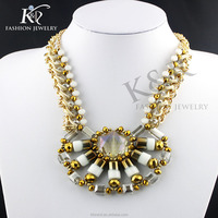 fashion crystal necklace set accessories women statement necklace crystal collar 2015