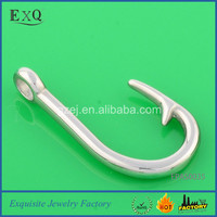 Alibaba Best Selling Stainless Steel Fish Hook Memorial Jewelry Wholesale