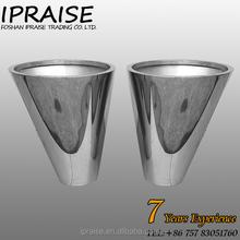 Wholesale garden stainless steel flower pots
