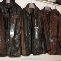 Men's Clothing Men Patchwork Casual Leather Jacket Mens Motorcycle Jackets