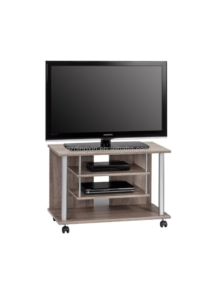 Lcd Tv Stand Designs Wooden : Wooden lcd tv stand design with wheels home office