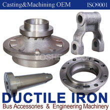 Ductile cast Iron ggg50 OEM (Metal casting&CNC machining)(Engineering Machinery & Bus Accessories)