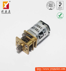 Small volume high torque low rpm electric toy motor/dc gear motor for toys
