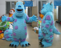 adult furry monster mascots costumes