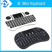 Rii i8 2.4G Wireless Mini Keyboard for smart Google Android Devices tv box tv dongle mini pc with Multi-touch up to 15 Meters
