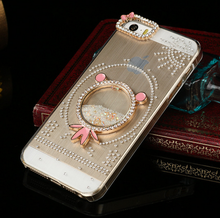 Case For Iphone5/5s iphone4/4s Diamond Jewel Phone Protect Cover Fashion Plastic Phone Shell 2015 Hot Selling