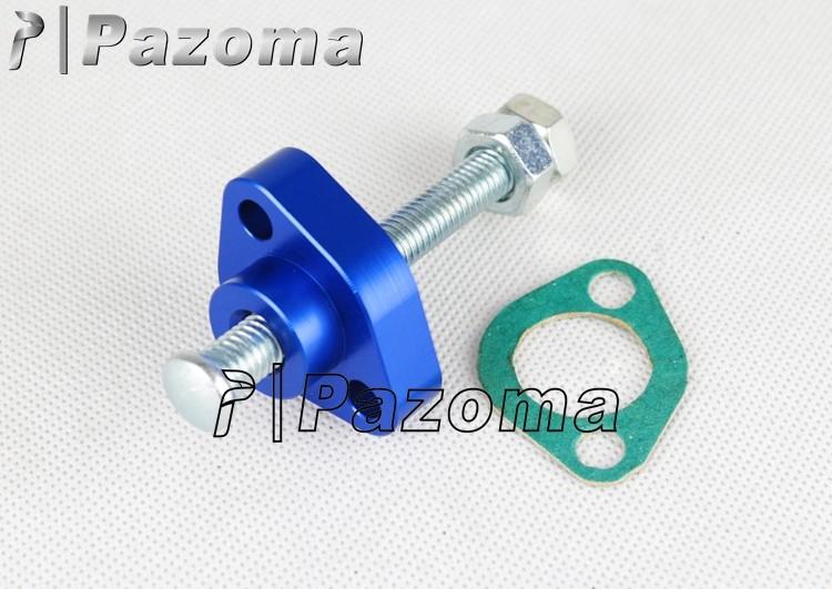 Blue CNC Manual Cam Chain Tensioner For ATV Honda TRX 250X 87 88 89 90 91 92