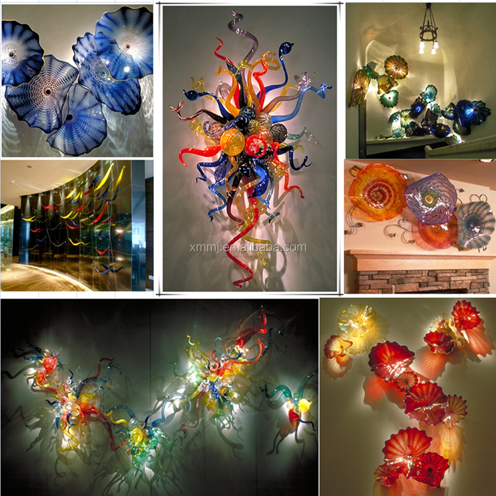 Blown Glass Wall Decor : Wholesale hand made decorative blown murano art glass wall
