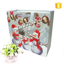 Special Christmas gift with color printing bag of paper material