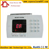 FCC/CE/RoHS Most Cost-effective Wireless 99 Defense Zones PSTN Cheap Home Burglar Intruder Alarm Device with LED Display