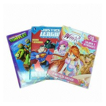 Perfect binding children book with padding