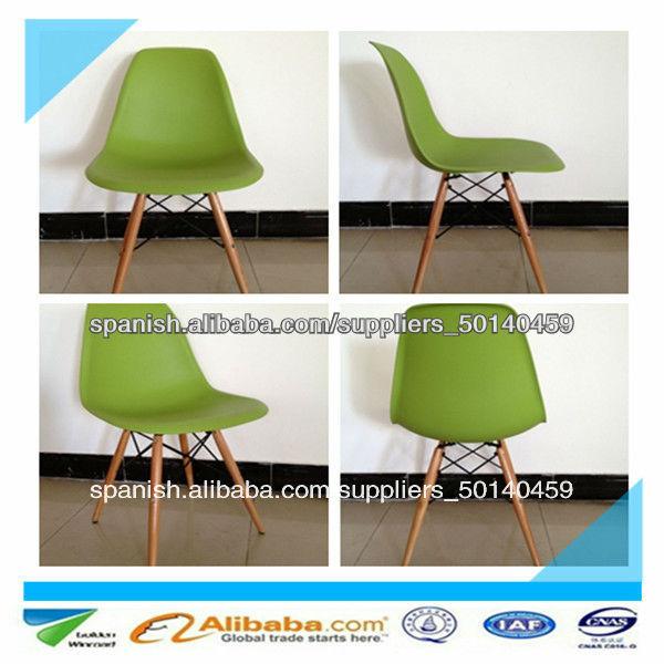 Ofrecer 2014 moderna elegante de color pp silla pl stica for Sillas plasticas modernas