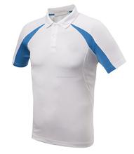 camisa de polo de alta calidad logotipo bordado por encargo