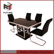 new design european style dining sets/ high quality home furniture