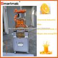 comerciales de acero inoxidable de color naranja extractor de jugo de la máquina