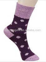 Fancy rabbit wool warm sock for women