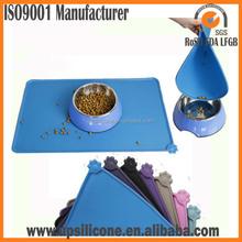 silicone pet food mat Pet Food Mat Mat for Pet dog Bowl