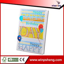 custom embossing and hotfoil birthday handmade card designs