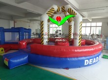 Commercial grade for kids indoor or outdoor sports inflatable wrecking ball