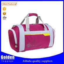 outdoor sport duffel bag waterproof nylon bag travel with double handle and shoulder belt