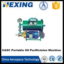 China Aerospace Tech portable high-accuracy transformer oil recycling purifier machine