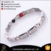 Power Ionics Smart Bracelet Pure Titanium Ion Band Balance Energy Bracelet
