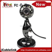 6 LED usb camera with MIC, Webcam Camera for pc desktop laptop(Z4)