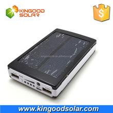 2015 lower price Dual USB 5V1A 5V2.1A high capacity portable powerbank solar charger 30000mah