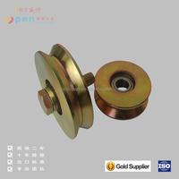 steel industrial sliding door pulley