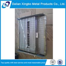 heavy duty collapsible storage steel mesh bin