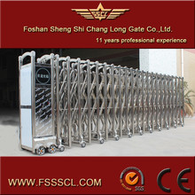 Stainless steel automatic parking gate barrier for entrance