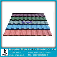 Classical Tile - Stone Coated Steel Roofing Tile- colored AL-ZI Tile