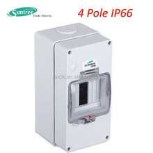 IP66 Wall Mounting Plastic Enclosure/ABS distribution box/ life proof Fire resistant ABS distribution box