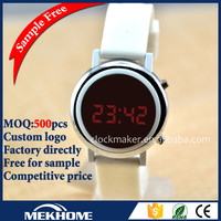 Custom log printed Watches China Products , Silver Women's Watch Women Girls Ladies