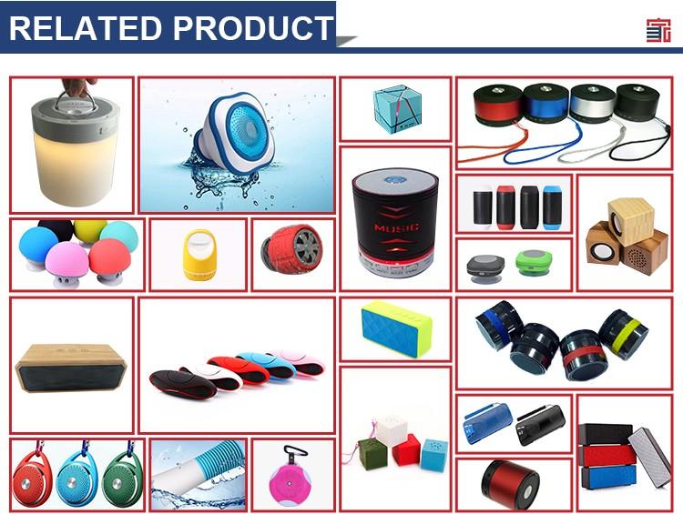 Volume de fornecimento profissional presente Relativo À Promoção Áudio Portátil CONDUZIU a Lâmpada sensor de Toque À Prova D' Água sem fio bluetooth speaker